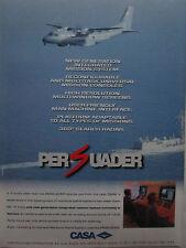 3/1997 PUB AVION CASA CN-235 PERSUADER MARITIME PATROL AIRCRAFT ORIGINAL AD