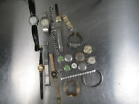 Lot of Watch Parts Watches Vintage Timex etc