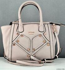 New GUESS Handbag Ladies Royal Rocker Mini Pink Gloss Bag Purse USA