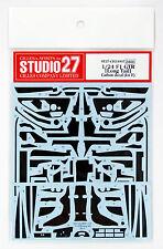 Studio27 ST27-CD24007 McLaren F1 GTR Carbon Decal Set for Fujimi 1/24