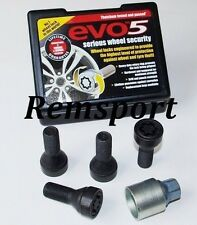 EVO 5 Locking Wheel Bolts 14x1.25mm BMW Mini 07-