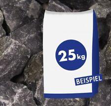 (0,41�'�/1kg) 25kg Sack Basaltbruch anthrazit 40-70mm Gabionen Steine Bruchstein G