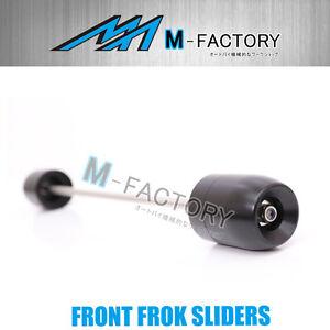 Black CNC Fork Sliders Protector Fit Yamaha YZF R3 2015+ 16 17 2017