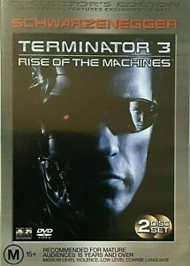 Terminator 3 : Rise Of The Machines : 2 Disc : NEW DVD :
