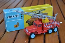 CORGI TOYS CHIPPERFIELD'S CIRCUS CRANE TRUCK N. 1121 MADE IN ENGLAND