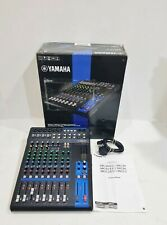 More details for yamaha mg12 channel mixer - mixing console - with box & power lead