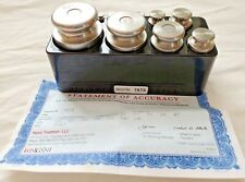Troemner Stainless Steel Precision Weights Calibration Balance Set of 13-1-1000g
