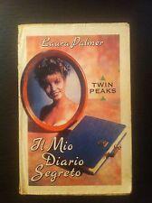 """Laura Palmer Twin Peaks """"Il mio diario segreto""""  Prod. 1a ed 1990 RARA"""