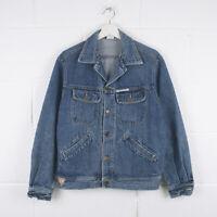 Vintage GUESS Classic Blue Trucker Denim Jacket Size Mens Medium /R57064