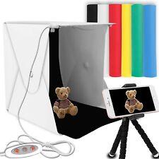"Portable Photo Studio, Elegant Choise 9.8"" x 9.3"" x 8.7"" Photography Studio Box"