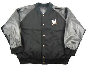 WWE Steve and Barry's Outfitters John Cena Black Bomber Varsity Jacket Size XXL
