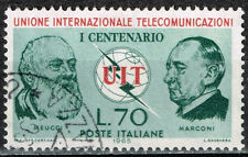 Italy Famous inventor of radio Marconi 1965 stamp