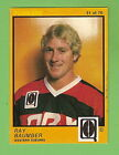 #D135. 1982 SCANLENS QUEENSLAND R/L CARD #51 RAY BAUMER, WESTERN SUBURBS
