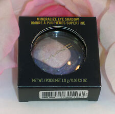 New MAC Eye Shadow Mineralize Shade Past Midnight .06 oz. 1.8 g Full size
