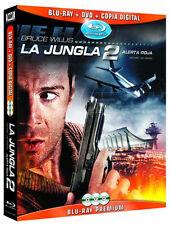 PELICULA BLURAY+DVD LA JUNGLA 2: ALERTA ROJA PRECINTADA