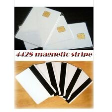 6 pcs Smart IC card with SLE 4428 chip + magnetic stripe HiCo  Contact IC card