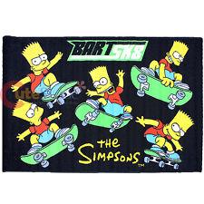 "Simpson Family Bart Carpet Accent Mat Area Rug 39""x58"" - Skateboarding"