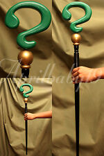 RIDDLER CANE Green Black SMOOTH Question Mark Costume Prop Cosplay Comic Con