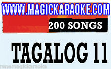 TAGALOG 11 LATEST OPM + NEW RELEASE POP MAGIC SING Karaoke MIC MAKE OFFER SAVE
