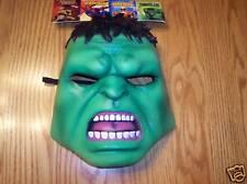 Hulk Adult Vinyl Half Mask Marvel NWT