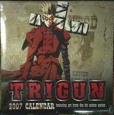 Trigun 2007 Anime Calendar/Vash The Stampede/Wolfwood/Meryl & Milly/Knives