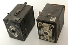 2X BILORA BOX 'STAHL' & BLITZ-BOX CAMERA. 6X9CM ON 120 ROLL FILM