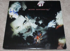 LOL TOLHURST HAND SIGNED AUTHENTIC 'THE CURE' DRUMMER RECORD ALBUM LP w/COA