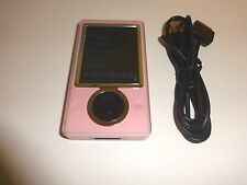 MICROSOFT  ZUNE  PINK  CUStOM  120GB...NEW  HARD DRIVE...