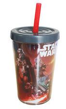 Star Wars Episode 7 The Force Awakens Kylo Ren Soda Cup w/ Straw – 13 x 9cm 13oz
