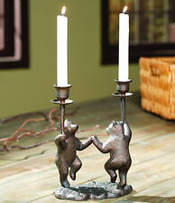 SPI 33796 Decorator Décor Sitting Giraffe Candleholder Pair Figurine
