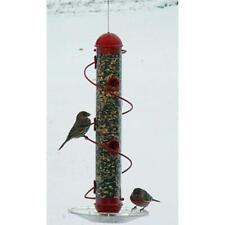 Songbird Essentials Sebqsbf3R 17 Spiral Sunflower Feeder - Red