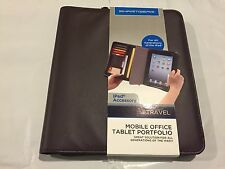 SMARTGEAR TRAVEL MOBILE OFFICE TABLET PORTFOLIO ALL GENERATIONS IPAD Cover