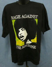 Rage Against The Machine Ratm Xl Shirt Vintage Vtg Rock & Roll Tee Printed Mens