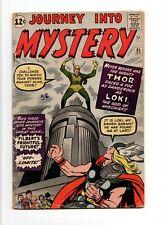 Journey into Mystery #85 VINTAGE Marvel Comic Thor KEY 1st Loki HOT TV SHOW