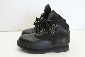Timberland Toddler Size 9 Euro Hiker Lace Up Boots A3942