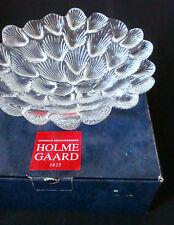 Holmegaard Glas OVP Muschel Schale Musling Ø 23 cm Per Lütken glass bowl in OB