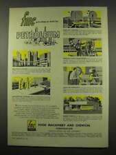1956 Food Machinery and Chemical Ad - Petroleum