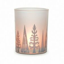 "PartyLite ""Glistening Trees"" Tealight Candle Holder, Nib"
