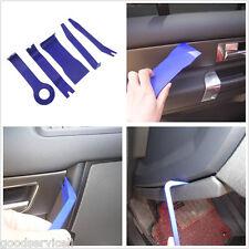 5 Pcs Blue Autos Interior Door Trim Panel Clip Lights Removal Pry Open Tool Kit