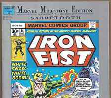 IRON FIST #14 Marvel Milestone Edition Reprint of 1st Sabretooth Nov 1992 in VF+