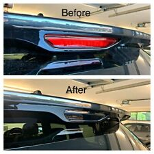 Jeep Grand Cherokee Rear Top Stop Light Black Out Laminate Tint - Die Cut 2014 +