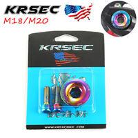 KRESC 15/18/20 Crankset Crank Chainring Hexagon Cap Bolt Fit Shimano/SRAM/FSA