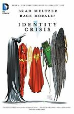 Dc Comics Identity Crisis Tpb Trade Paperback New Edition Rags Morales Hawkman