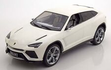 MCG 2012 Lamborghini Urus White Color 1/18 Scale. New Release!