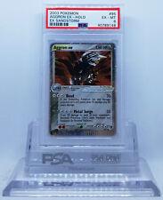 Pokemon EX SANDSTORM AGGRON EX #95 ULTRA RARE HOLO FOIL CARD PSA 6 EX-MINT #*