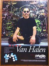 VAN HALEN / ALEX VAN HALEN / PAISTE CYMBALS MAGAZINE AD CLIPPING + FREE DVD