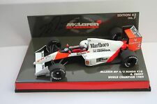 Alain Prost McLaren MP4/5 1989 1:43rd Scale Model SIGNED