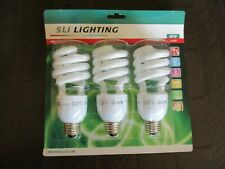 Sli Lighting Mini Lynx Compact Flourescent 20w 3pk Light Bulbs 75w Equivelant