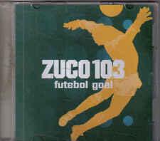 Zuco 103-Futebol Goal Promo cd maxi single 4 tracks