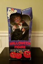 Dracula Halloween Figure Motionette Lights Sounds Funny Toys Corp 1988